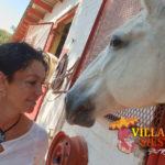 Villa Siesta - Meet the team - Joy with horse