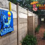 Villa Siesta Pet Retreat - Cool Cats signage